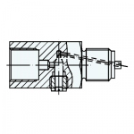 Tlumič tlakových nárazů AN 137524 druh I